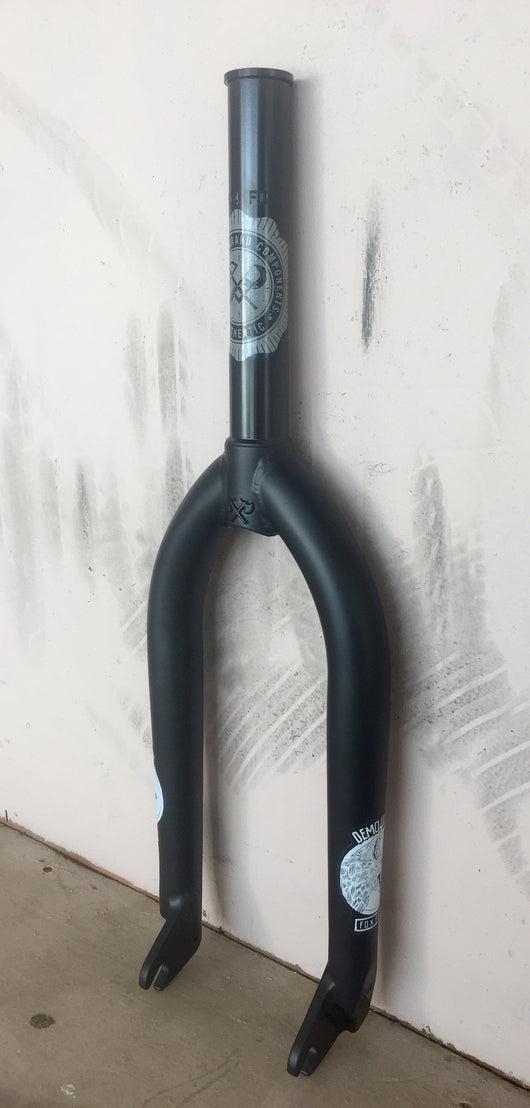 Demolition Kris Fox Signature Fork - Flat Black
