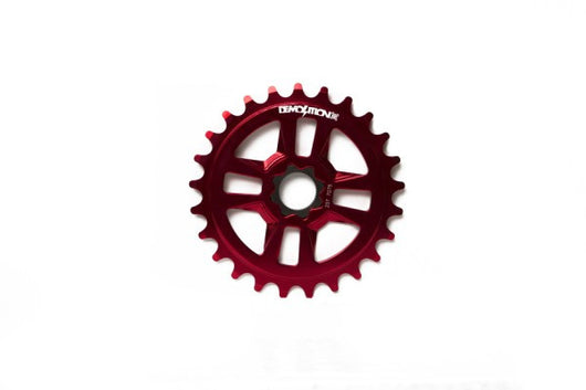 Demolition Merit Sprocket - 27T - Spline Drive - Anodized Red