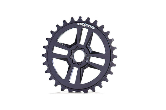 Demolition Merit Sprocket - 30T - Spline Drive - Flat Black