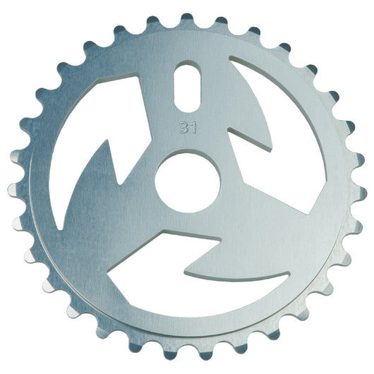 Tall Order Logo Sprocket - Silver 31t