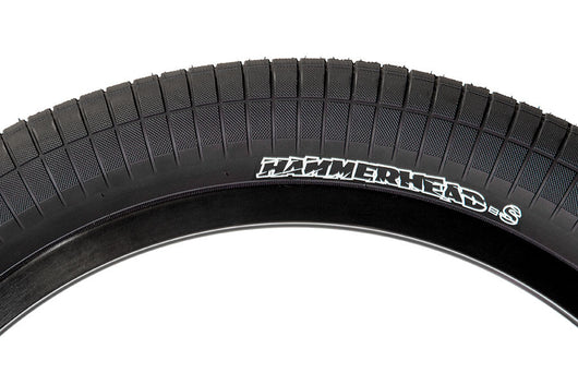 "Demolition Mike ""Hucker"" Clark Hammerhead Tire - Street (S) - 2.25 - Black"