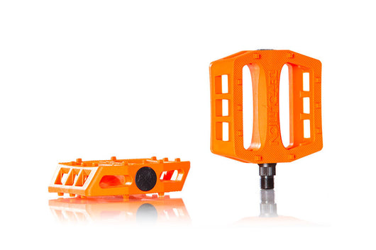 Demolition Trooper Plastic Pedal - Hunter Orange