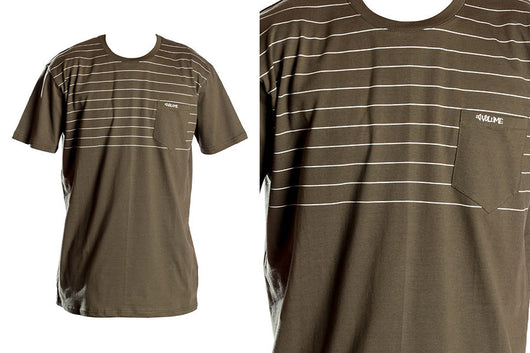 Volume Pocket Stripe Tee - XL