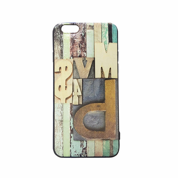 Vintage Look Embroidered Printed iPhone 6/6s Case (Style I)