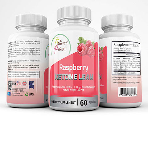 Nature's Prime Raspberry Ketone Lean