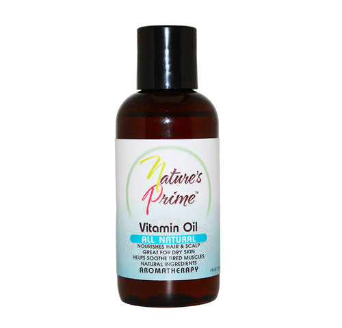Nature's Prime All Natural Vitamin Oil