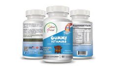 Nature's Prime Gummy Vitamins for Children with Natural Fruit Flavors – Gluten Free – No Artificial Colors