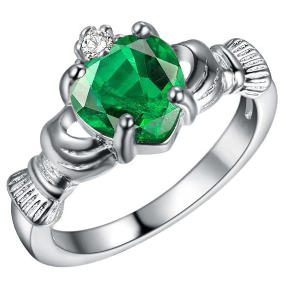 Traditional Irish Claddagh Ring from Galway