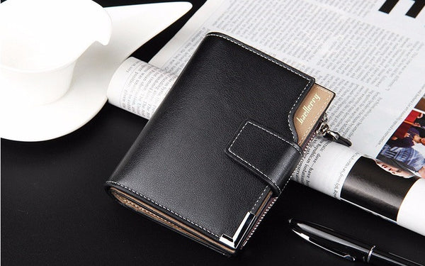 Mens genuine leather wallet