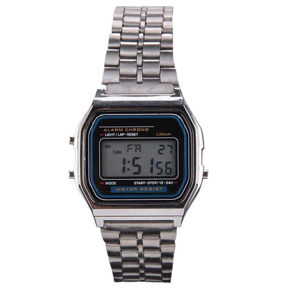 Vintage Casio Style Digital Watch - Promo Offer