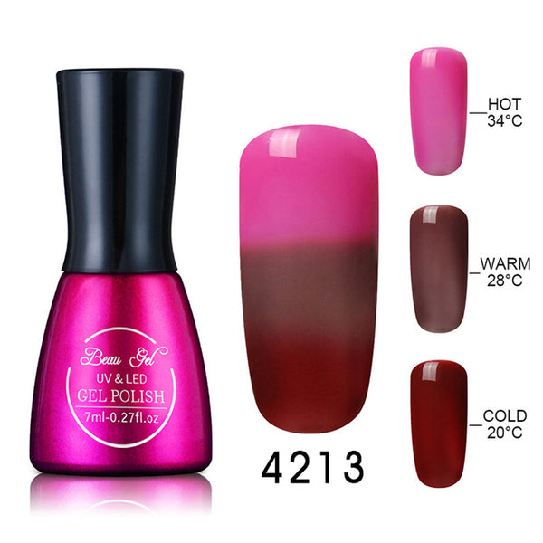 Color Changing Soak Off Nail Polish