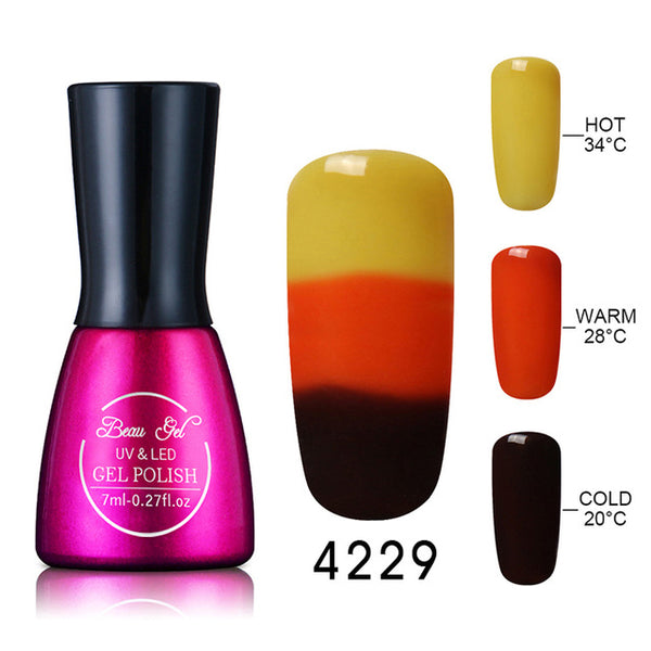 Color Changing Soak Off Nail Polish - Promo Offer