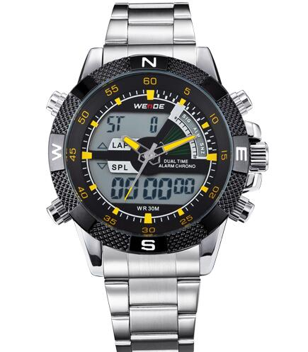'The Airman' Stainless Steel Multifunction Watch