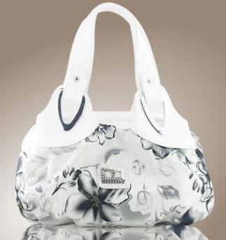 Ladies floral design tote bag