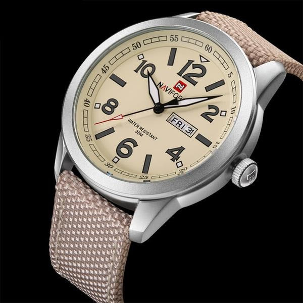 Swiss Style Military Watch