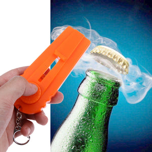 Bottle Opener and Cap Launcher!