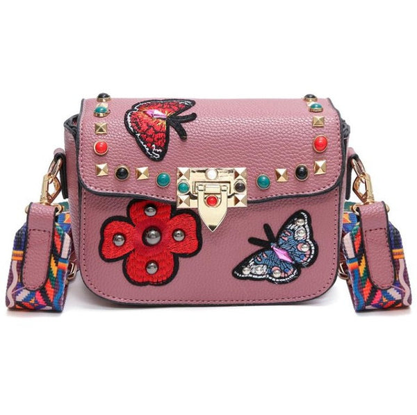 Ladies Butterfly shoulder bag