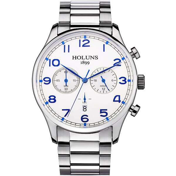 Mens Stainless Steel Luxury Watch