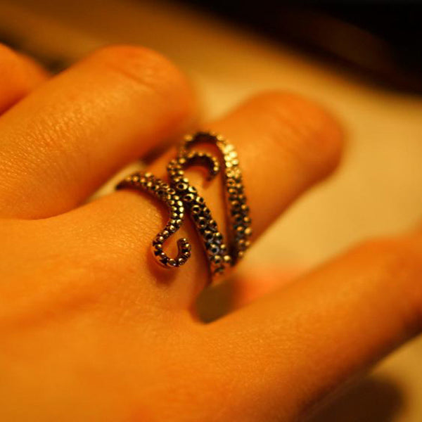 Resize-able Octopus Ring - Save our Seas!