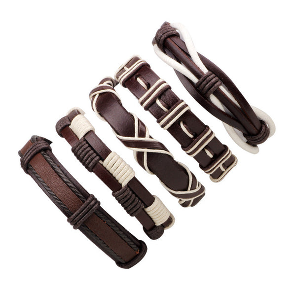 Multilayer Leather Bracelet - Promo Offer