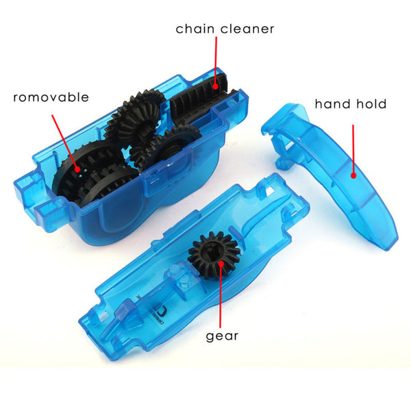 Bicycle Chain Cleaning and Degreasing Tool