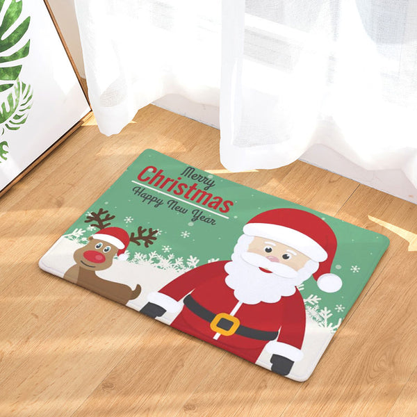 Beautiful Christmas Door Mat
