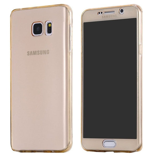 Crystal Clear protective touch case for Samsung Phones - Promo Offer