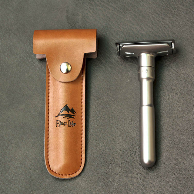 Retro Style Double Edge Twist Razor