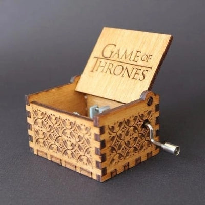 Harry Potter, Game Of Thrones, Star Wars Hand Carved Music Box