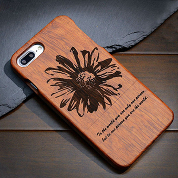 Solid Wood Case For Samsung Phones