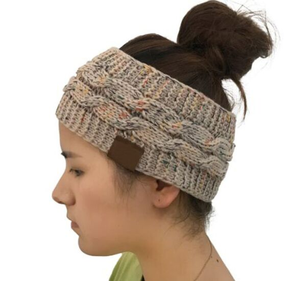 Ladies Knitted open top Beanie