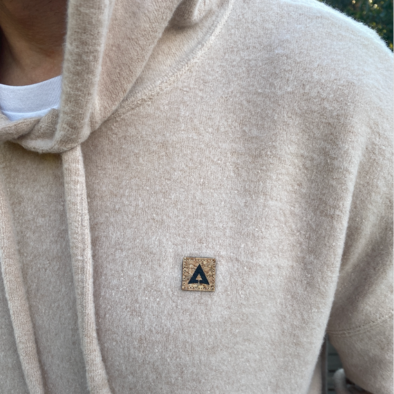 OMA Sueded Fleece Pullover Hoodie