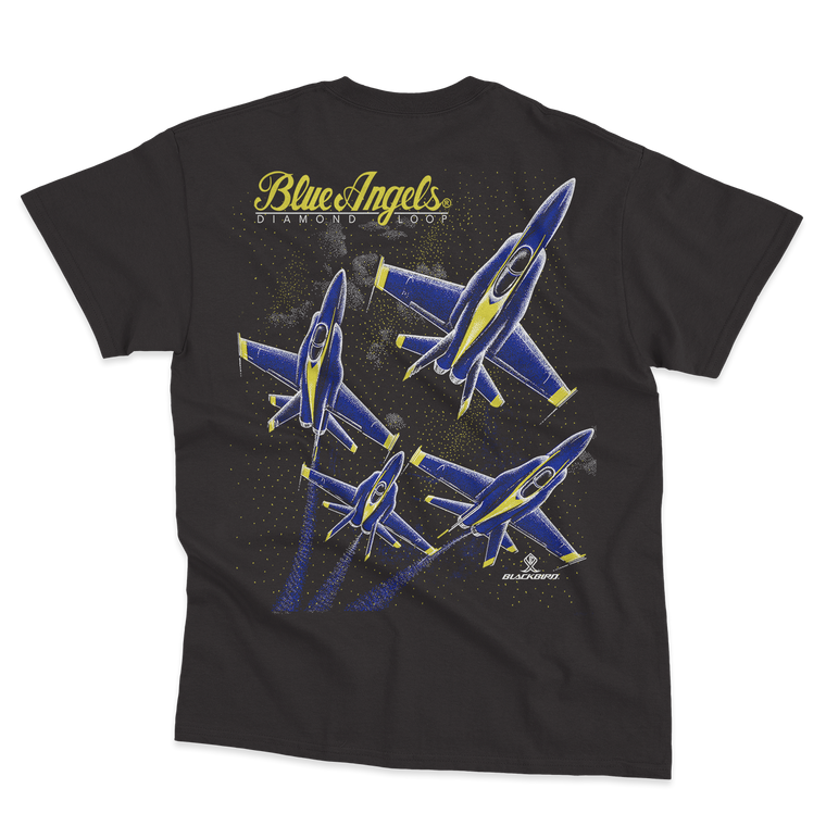 BLUE ANGELS HELMET HEAD TEE