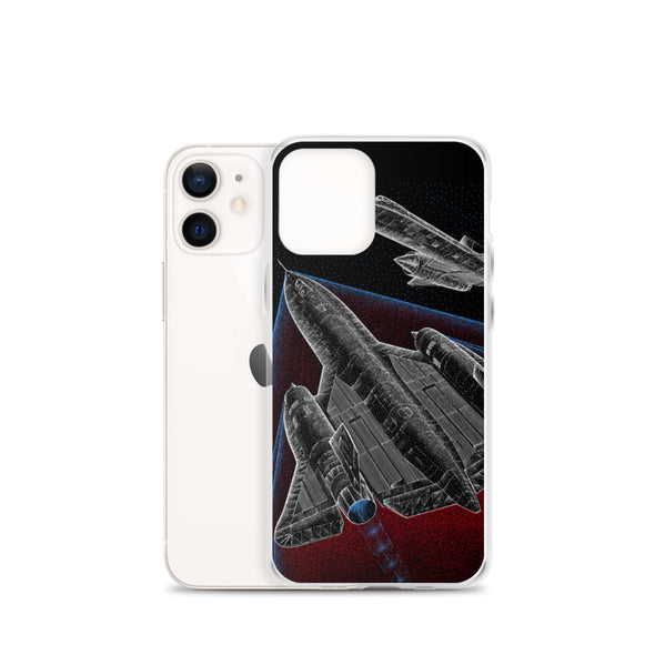 SR-71 BLACKBIRD iPhone Case