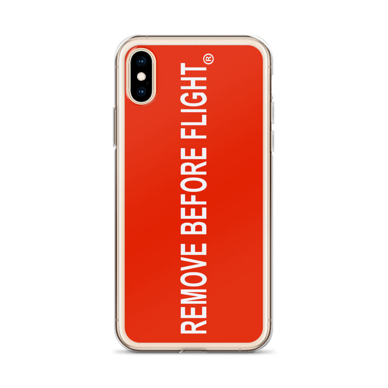Remove Before Flight iPhone Case