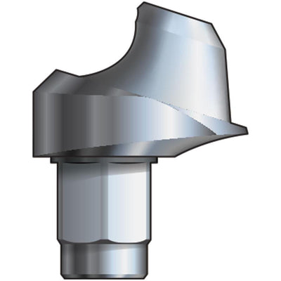 Inclusive® 17° Multi-Unit Abutment 2 mmH compatible with: Biomet 3i™ Certain® 3.4 mm
