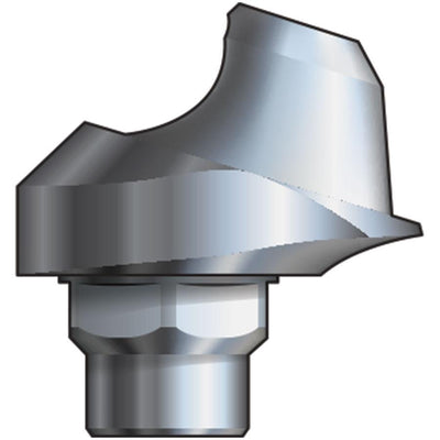 Inclusive® 17° Multi-Unit Abutment 2 mmH compatible with: Biomet 3i™ Certain® 4.1 mm