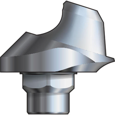 Inclusive® 17° Multi-Unit Abutment 2 mmH compatible with: Biomet 3i™ Certain® 5.0 mm