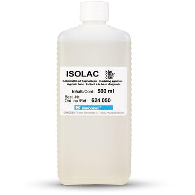 Erkodent Isolac Clear, 500 mL