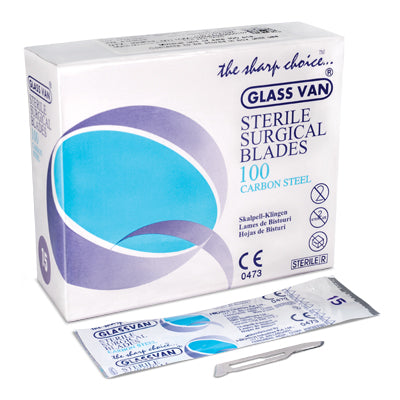 GLASSVAN® STERILE SURGICAL BLADES CARBON STEEL