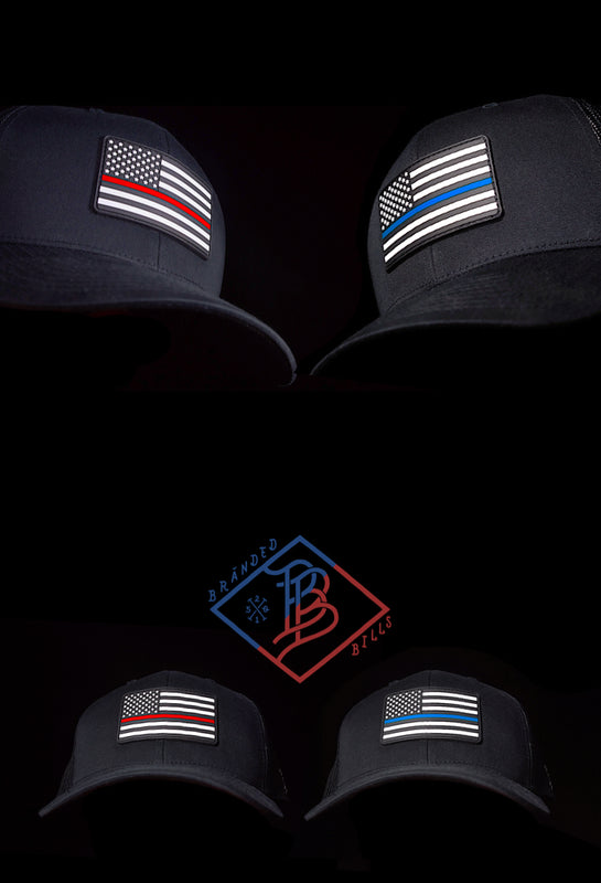 Custom Headwear - Branded, Genuine Leather Patches - Branded