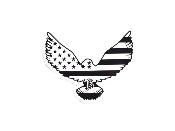 BB American Eagle Sticker