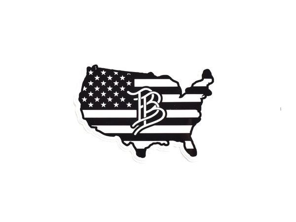 BB USA Sticker