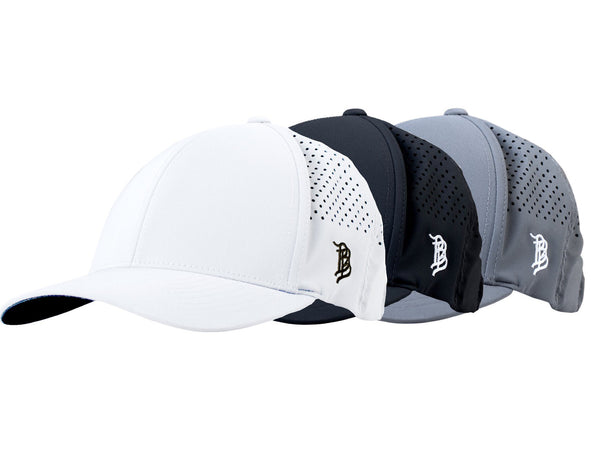 Curved Performance Hat 3-Pack