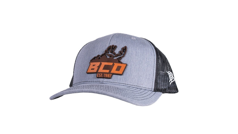 BCO Deer Cutout Curved Trucker