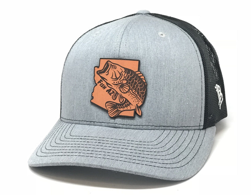 Fish AZ Curved Trucker