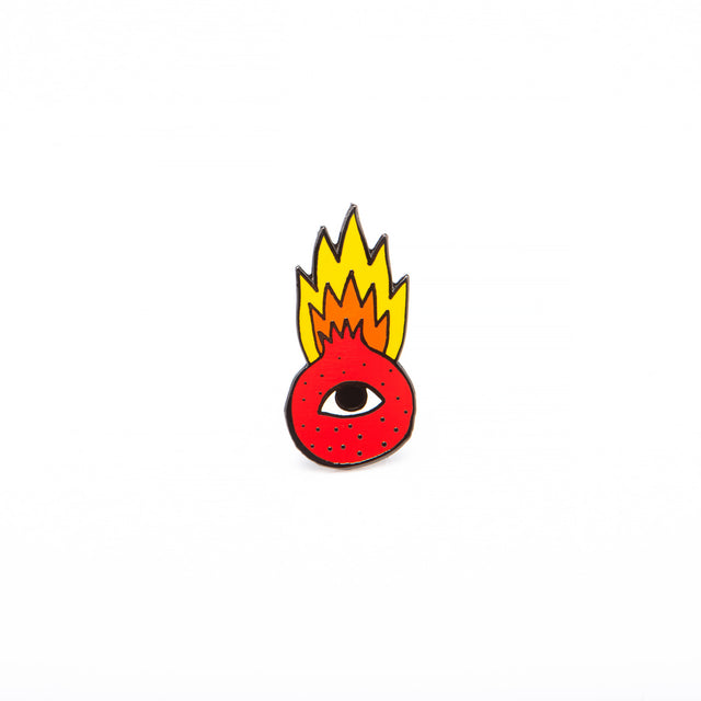 Flaming Pomegranate Pin