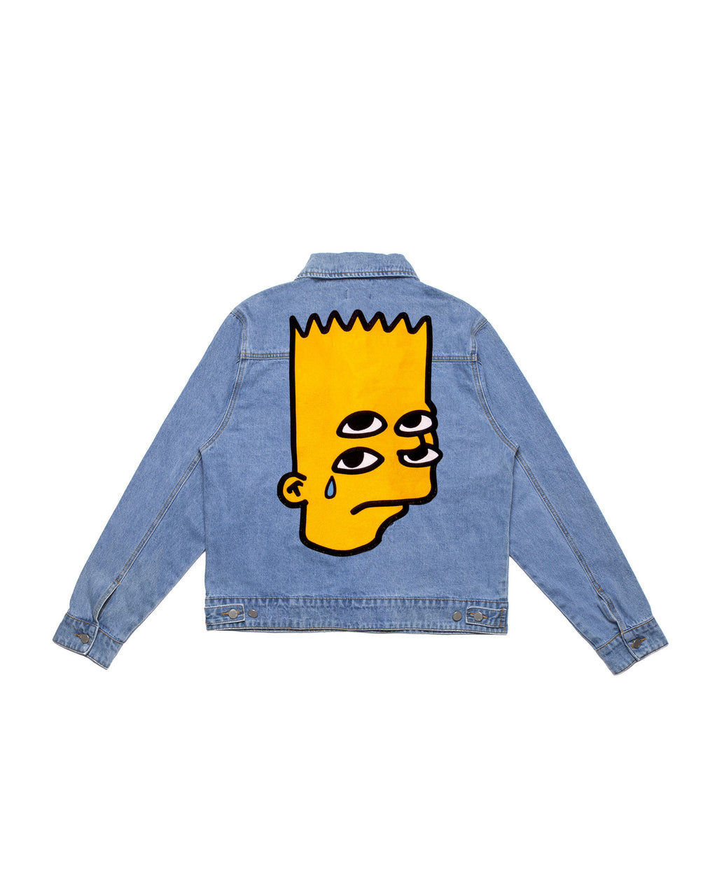 """Emotional is Ok"" denim jacket"