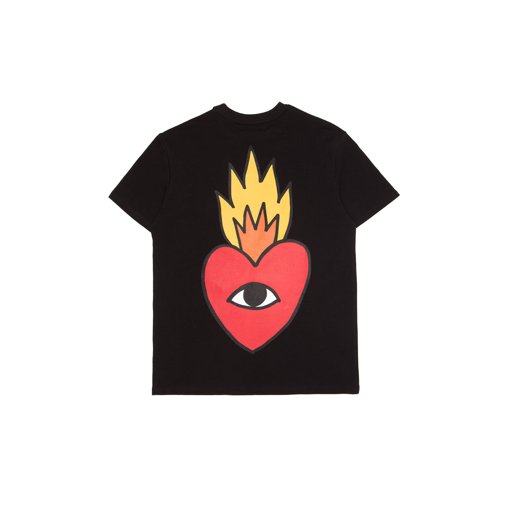 Flaming Heart signature T-shirt