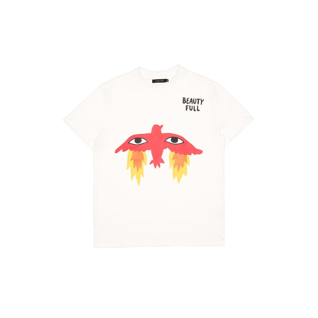 Flaming Bird signature T-shirt